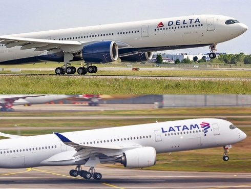 Delta, LATAM combine trans-American routes; signed JV