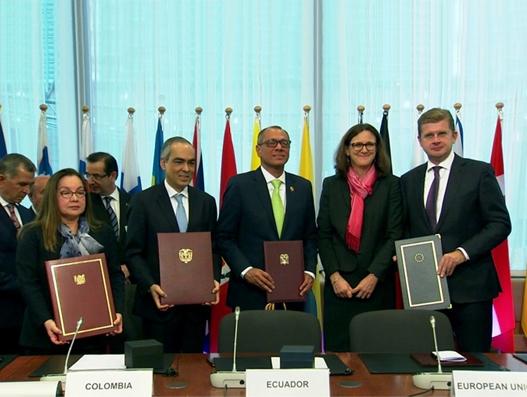 Ecuador joins EU-Colombia/Peru trade agreement