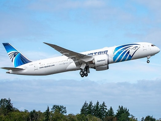 AerCap delivers fifth Boeing 787 Dreamliner on lease to EgyptAir