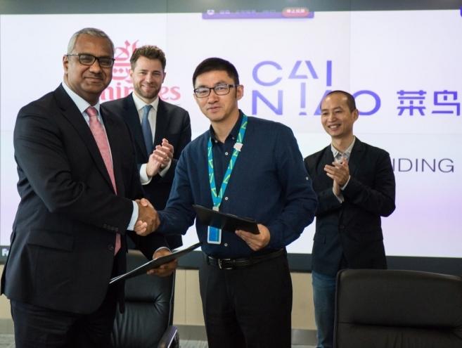 Emirates SkyCargo signs MoU with Cainiao to use Dubai as a hub