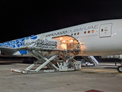 Emirates to offer cargo capacity for free to NGOs to ship relief goods from Dubai to India