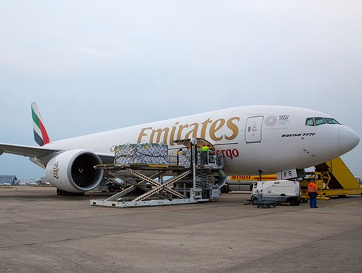 Emirates SkyCargo begins freighter services to Maastricht