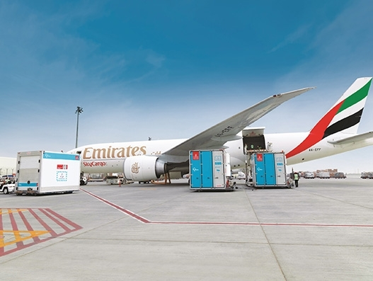 Emirates SkyCargo helps to deliver medical equipment from Seoul to Africa