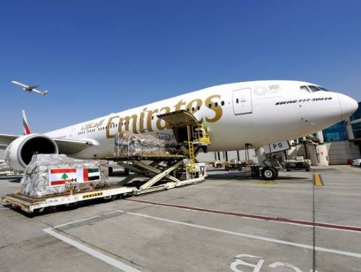 Emirates SkyCargo moves 160K kg of aid to Beirut as donations pour in