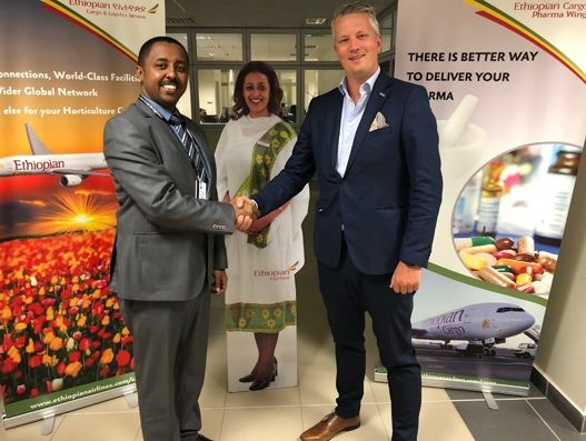 Ethiopian targets seafood industry with new Guangzhou-Oslo freighter service