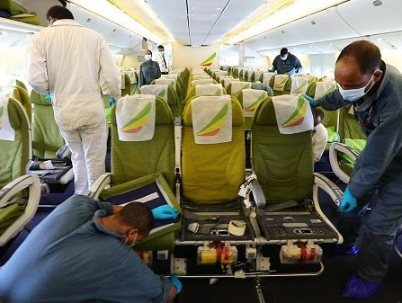 Ethiopian remodels 9 passenger aircraft for cargo