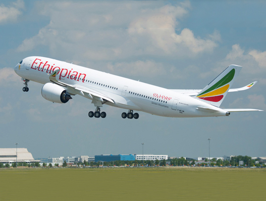 Ethiopian Airlines lands Airbus A350-900 in Abuja as airport reopens