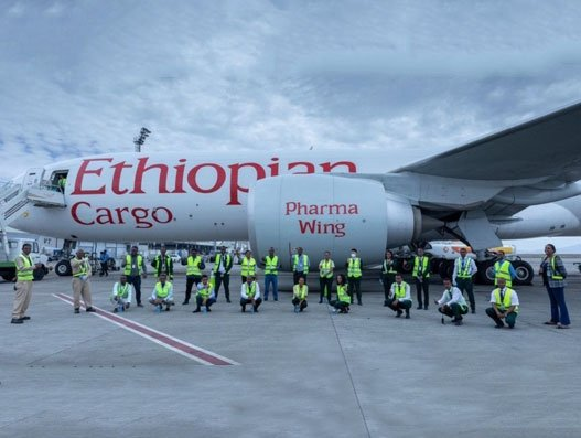 Ethiopian takes medical supplies to 39 African countries