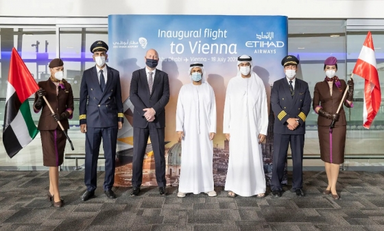 Etihad Airways expands services to Vienna, becomes 65th destination