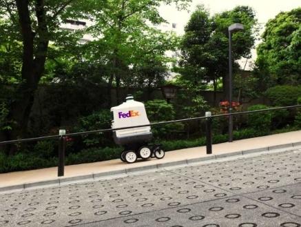 FedEx Express unveils autonomous delivery device Roxo in Japan