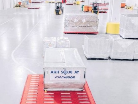 Finnair cargo facilities ready for distribution of Covid 19 vaccines