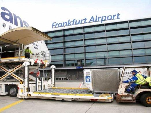 Weekly report: Frankfurt cargo volumes down by 12.9%