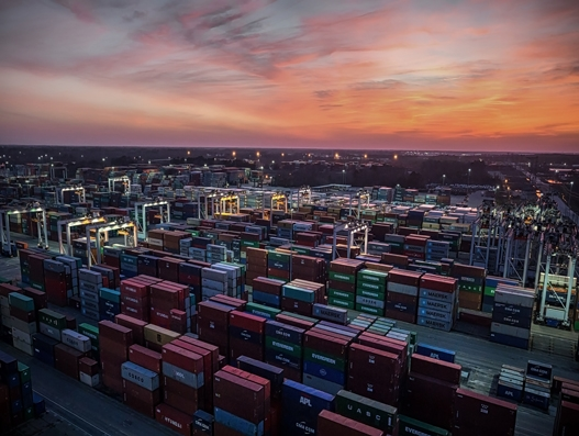 Port of Savannah's container traffic rises 7.1 percent y/y in April
