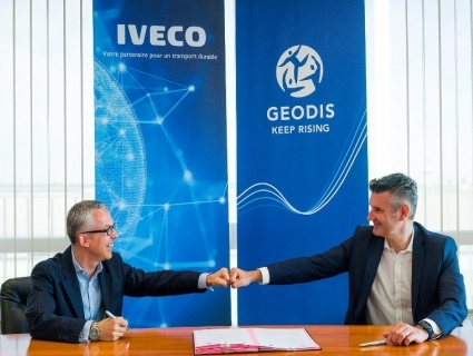GEODIS acquires 200 natural gas vehicles from IVECO