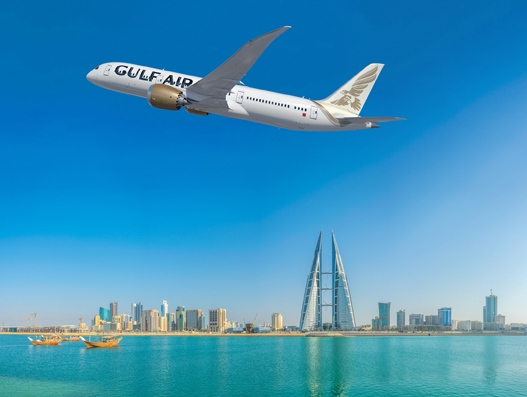Gulf Air receives its first B787 Dreamliner