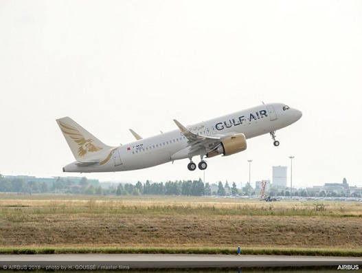 Gulf Air takes delivery of its first A320neo