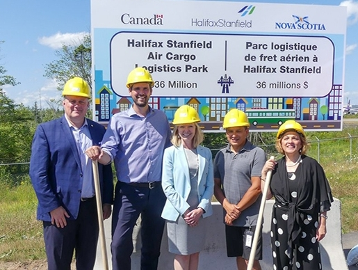 Halifax Stanfield Airport set to open new air cargo logistics park in early 2021