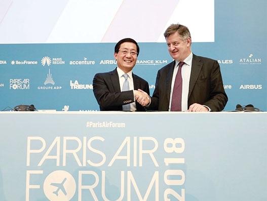 Hong Kong Airport and Paris CDG Airport sign MoU