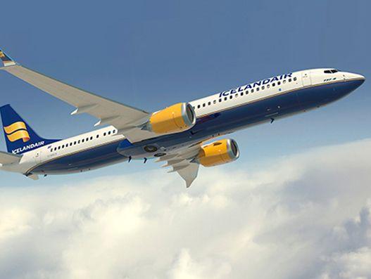 Icelandair adds first Boeing 737 MAX jet in its fleet