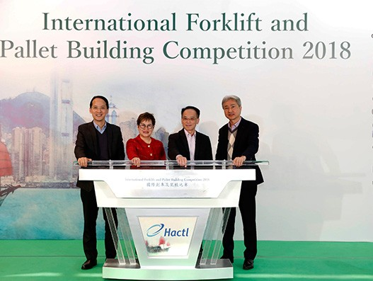 China Southern Cargo triumphs Hactl forklift and pallet building contest
