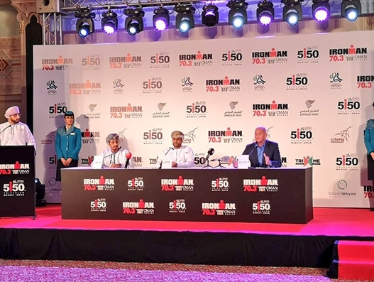 Oman Air becomes official carrier of Ironman