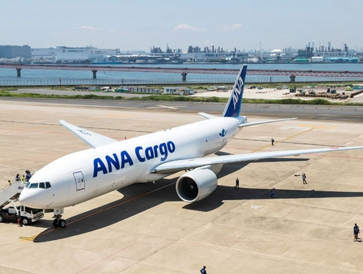 Japan's ANA operates first Boeing 777F on Narita-Shanghai route
