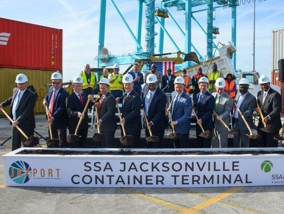 JAXPORT breaks ground on $239 million terminal upgrade