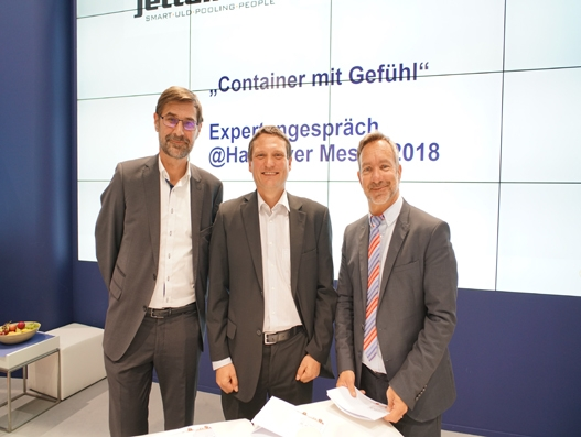 Jettainer tests next generation of digital container