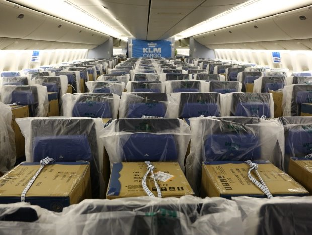KLM joins cargo-in-cabin club