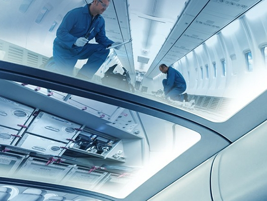 K+N offers logistics solution for the entire lifecycle of aircraft interiors