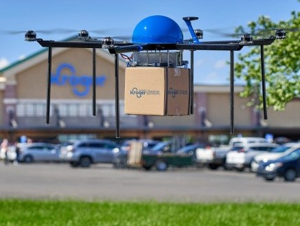 Kroger and Drone Express partner to deliver grocery by drones
