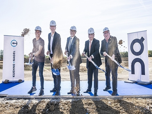 Kuehne + Nagel breaks ground on new Luxembourg hub