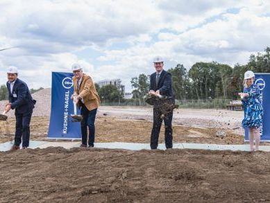 Kuehne+Nagel is building 75,000 sqm e-commerce warehouse in Belgium