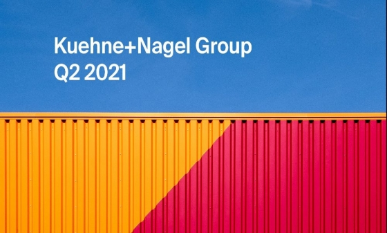 Kuehne+Nagel make double earnings in the first half of 2021