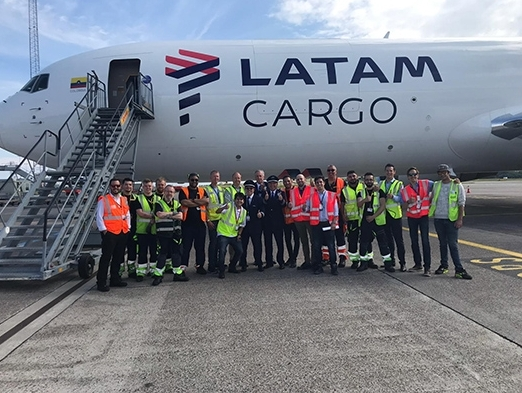 LATAM Cargo launches new freighter route to Copenhagen