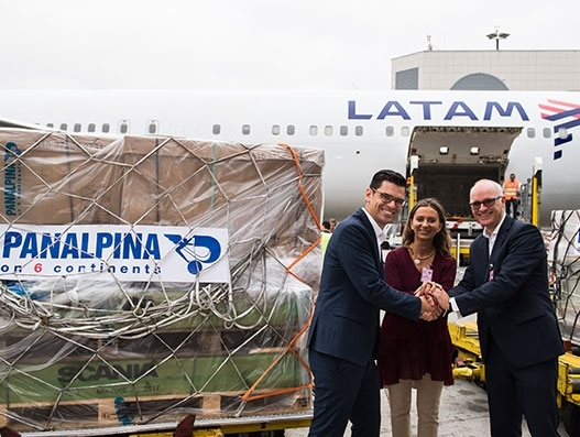 LATAM Cargo commences direct service between Lisbon and Guarulhos