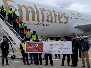 Rickenbacker Airport welcomes its 500th passenger-freighter since May 2020