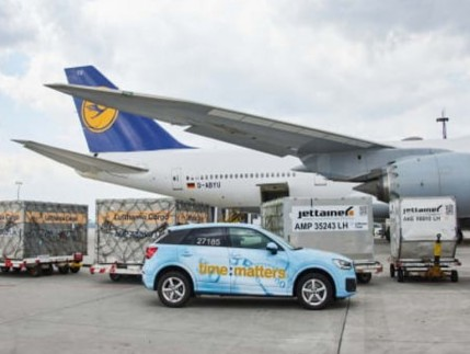 Lufthansa Cargo flies 10 tonnes of medical equipment from Frankfurt to Delhi for time:matters