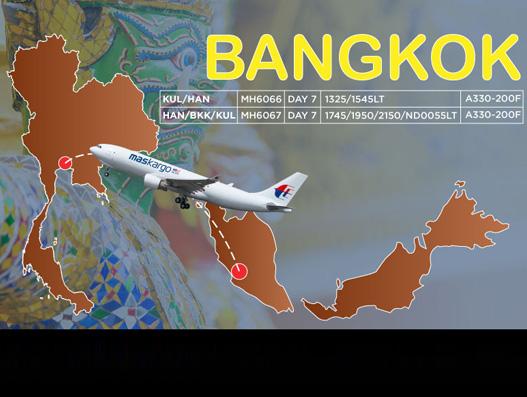 MAB Kargo launches Bangkok service