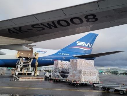 Maersk facilitates air freight shipments of medical aid to India on zero-profit basis