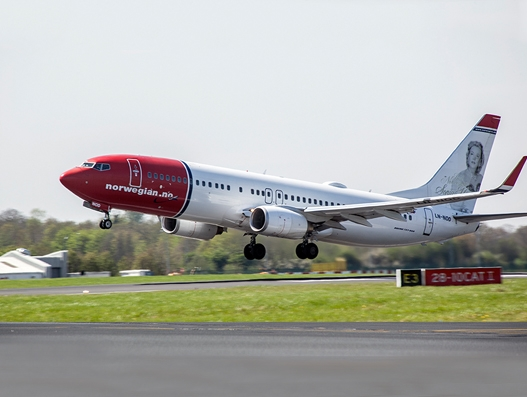 Dublin Airport welcomes Norwegian's new service to Stockholm