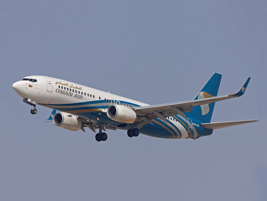 Oman Air receives new Boeing 737- 800