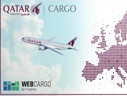 Qatar Airways Cargo to go live on WebCargo platform across Europe from June 30