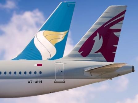Qatar Airways, Oman Air further expand strategic cooperation