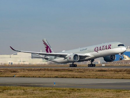 Qatar Airways takes delivery of three Airbus A350-1000