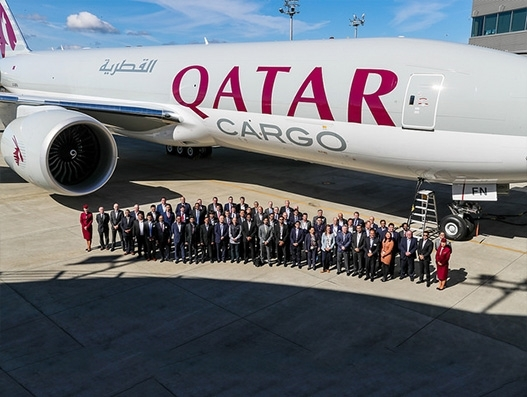 Qatar Airways takes delivery of two Boeing 777 Freighters