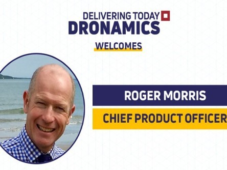 DRONAMICS appoints Roger Morris as Chief Product Officer