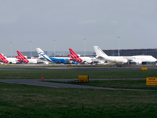 Amsterdam Airport Schiphol sees strong cargo growth in Q1 2017