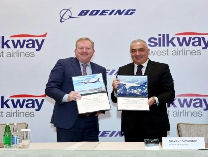 Silk Way West Airlines places order for five B777 freighters