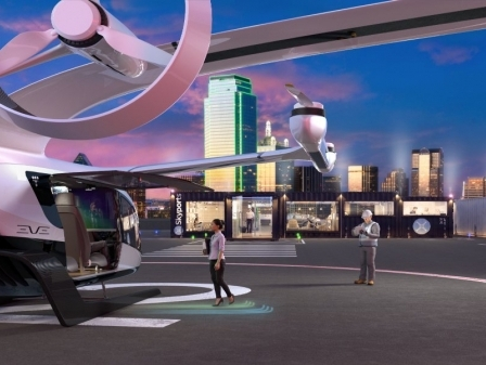 Embraer's Eve Urban Air Mobility, Skyports partner to develop urban air mobility solutions